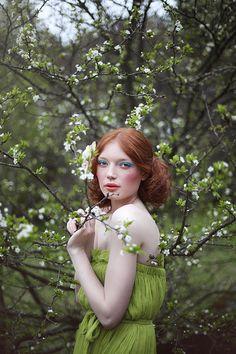 Nymph * * by Anastasia Fursova, via 500px