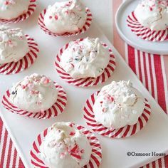 Gooseberry Patch Recipes: Christmas Peppermint & Chocolate Meringues from Big Book of Country Baking cookbook