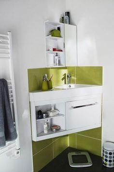 Am nagement petite salle de bain 2m2 maison pinterest petites salles de bain petite salle - Amenagement salle de bain 2m2 ...