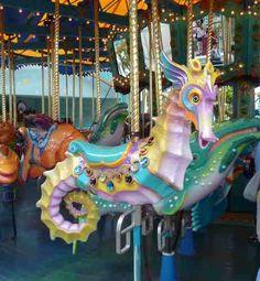 Carousel Sea Horse