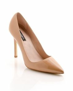 perfect nude heel pump How friggen cute are these for spring?! Loveeeee. high heels pumps spring collection