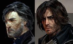 #Dishonored 2 Corvo | Dishonored and Dishonored 2 concept art