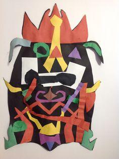 Nicholas Stothard and Ryan Clark's mask