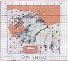 Схемы вышивки крестом кошек, котов, котят / Мастер-класс