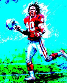 This is the original Pat Tillman poster that I used to mirror in my football painting/picture.