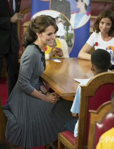 Today's @ChanceUK visit reflects The Duchess's interest in children's mental health & early intervention programmes.