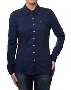 Tommy Hilfiger Long Sleeved Navy Faina shirt Save up to 50% Off at Accent Clothing using Discount and Voucher Codes.