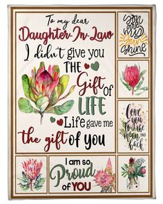 Only available for a LIMITED TIME, so get yours TODAY! Other styles and colors are available in the options. Get yours before it ends. Daughter In Law Quotes, Birthday Daughter In Law, Dear Daughter, Daughter In Law Gifts, Birthday Greetings For Daughter, Mother Daughters, Love Mom Quotes, Niece Quotes, Hug Quotes