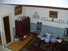 tasha tudor dollhouse   The Calico Cottage   Flickr