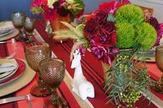 Resultado de imagem para mesas decoradas de natal de bom gosto