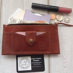 d2bfc0fd7b67 Leather zip wallet,leather purse,leather zip pouch,hand made purse,hand  made gift,soft purse,everyday purse