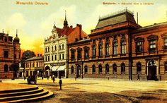 If you find some historic photos of some czech town, please post them here. Historical Photos, Louvre, Mansions, House Styles, Building, Travel, Historical Pictures, Viajes, Buildings