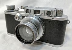 This Leica Vintage 1930s camera is up for auction on PickGoodwill.com! A rare collector's item indeed. Auction ends May 10 at 6:30 p.m. MT.