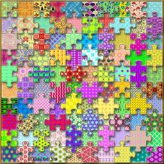 A Puzzlers Puzzle - 100 Different Tiles By Kathy Potts Puzzle created by Hummingbird592 Image copyright: (C) Kathy Potts 2016 All Rights Reserved.