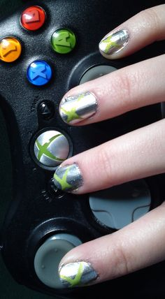 xbox nails...the bf would love this