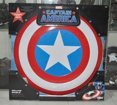 Escudo Capitán América. De Luxe, metal 60cm