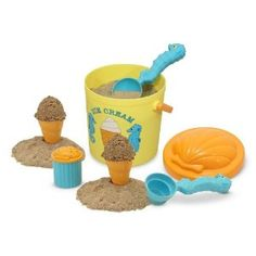 Melissa & Doug Sunny Patch Speck Seahorse Sand Ice Cream Set Ansley got this for her bday. Super cute!