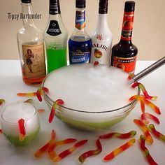 Witches Brew! For the recipe, visit us here: www.TipsyBartender.com