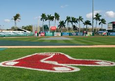 2018 Red Sox Spring Training Schedule in Fort Myers Fl. When is the first spring training game for the Red Sox. Mlb Red Sox, Red Sox Baseball, Baseball Field, Fort Myers Florida, Fort Myers Beach, Boston Sports, Boston Red Sox, Mlb Spring Training, Red Sox Nation