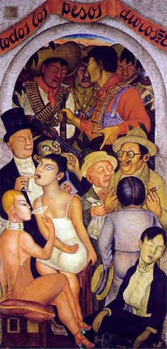 Diego Rivera, Night of the Rich