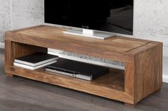 Interior Invicta 18817 Madeira mueble para TV-de madera de palisandro indio 120 cm: Amazon.es: Hogar