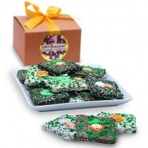 St. Patrick's Day Half Grahams Gift Box