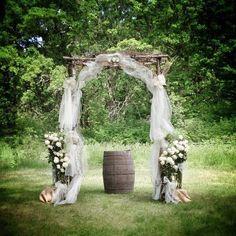 My wedding arch! :)