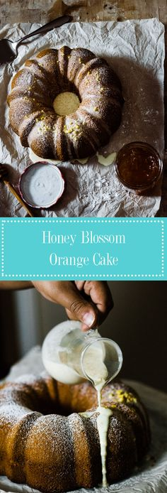 Are you in charge of dessert this Thanksgiving dinner? Give this Honey Blossom Orange Cake a try. A sweet, mellow taste of orange topped with a creamy sugar glaze. This cake will leave the family and happy. Enjoy!