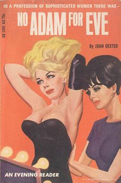 Lesbian pulp cover from the Vintage Lesbian, Lesbian Art, Lesbian Love, Gay Art, Vintage Comics, Vintage Posters, Dibujos Pin Up, Pulp Fiction Book, Vintage Book Covers