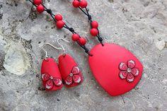ювелирные изделия ожерелье глины