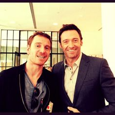 @RealHughJackman They'll let anybody in this place! #Fassy