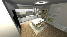 Projekt. #kuchnia  #jadalnia