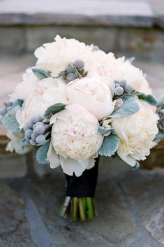 The Most Popular Wedding Color Trends For 2017 ❤ wedding color trends grey bouquet erinheartscourt ❤ See more: http://www.weddingforward.com/wedding-color-trends/ #weddingforward #wedding #bride