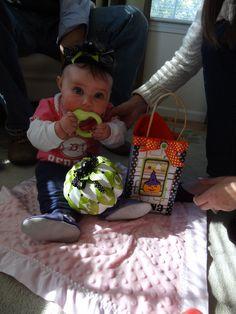 Fiona Halloween Headband and bag