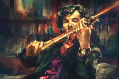 I appreciate this a good deal. Mm, Sherlock, mmm, Benedict Cumberbatch. Virtuoso Art Print