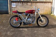 Honda GB500 - Skull Bike Club - Inazuma Cafe Racer