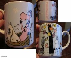 YAMAKA muumimuki Moomin Mugs, Moomin Valley, Tove Jansson, Marimekko, Japanese, Songs, Dishes, Tableware, Garden