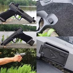 Glock Mods, Agency Arms, Custom Glock, Shooting Range, Pew Pew, Edc, Hand Guns, Weapons, Military