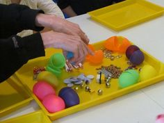 Easter egg math.  March 30, 2012  Teach Preschool