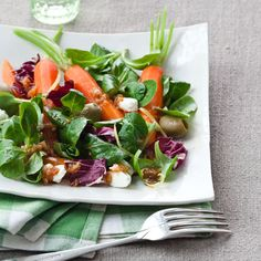 Moroccan Carrot Salad with Feta