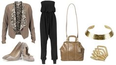 daily look - black jumpsuit