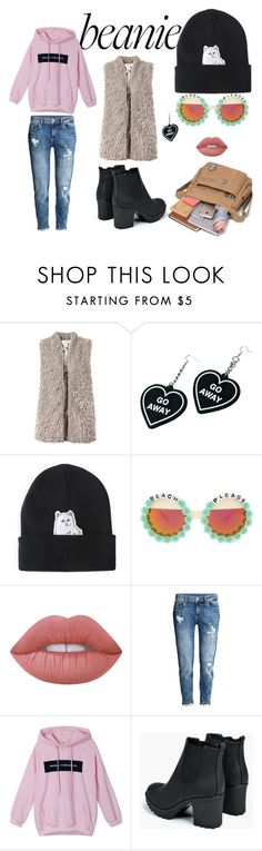 """""""Untitled #167"""" by jel-i-ana ❤ liked on Polyvore featuring Sans Souci, Witch Worldwide, Chicnova Fashion, Rad+Refined, Lime Crime, H&M and Boohoo"""