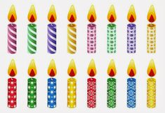 Birthday Candle Images Clip Art - Pictures of Cakes and Candles Birthday Candle Images, Birthday Cake With Candles, Wedding Cakes With Cupcakes, Birthday Greeting Cards, Birthday Greetings, Birthday Celebration, Cartoon Birthday Cake, Art Birthday, Birthday Bash