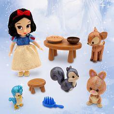 Disney Animators' Collection Snow White Mini Doll Play Set - 5'' Can't decide between Snow, Cinderella or Jasmine.....