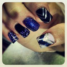 Purple leopard lover