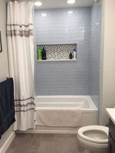 Bathroom decor for your bathroom remodel. Learn bathroom organization, bathroom decor tips, master bathroom tile ideas, master bathroom paint colors, and much more. Large Bathrooms, Amazing Bathrooms, Modern Bathroom, Master Bathroom, Neutral Bathroom, Remodled Bathrooms, Bathroom Black, Bathroom Showers, Glass Showers