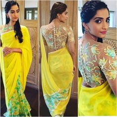 Bollywood fashion 782922716459135337 - 15 Times Sonam Kapoor Didn't Drape A Sari The Boring-Ass Way Source by