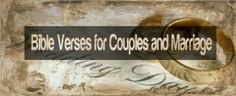 Bible Verses for Couples and Marriage