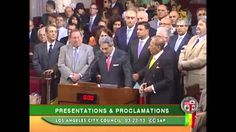 Phoenix House Director Pouria Abbassi speaks at Los Angeles City Council Celebration of Norooz, via YouTube.