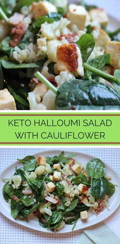I love halloumi cheese in a salad especially when it is served warm like in this Keto Halloumi Salad. I love halloumi cheese in a salad especially when it is served warm like in this Keto Halloumi Salad. Salad Recipes Low Carb, Lunch Recipes, Diet Recipes, Healthy Recipes, Superfood Recipes, Diabetic Recipes, Easy Recipes, Recipies, Keto Side Dishes